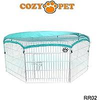 Transportadora Cozy Pet de conejo, tiene 8tamaños con matices solares para cuyo, pollo, parque de juegos