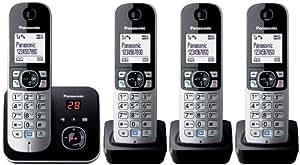 Panasonic KX-TG6824 Téléphones Sans fil Répondeur (Import Allemagne)