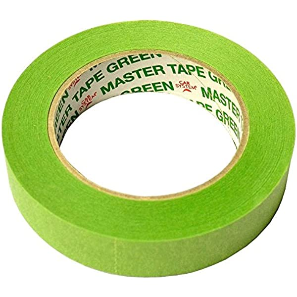 Abdeckband 110°C wasserfest Master Tape Green 50mm