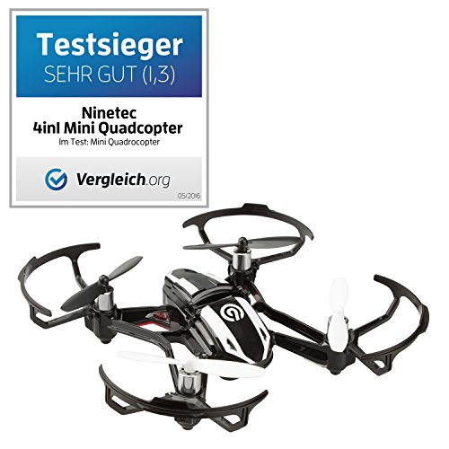 NINETEC Spyforce1 Mini HD Video Kamera Drohne Quadrocopter Ufo 2.0 MP 1280x720