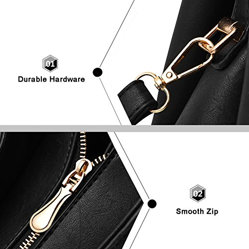 Borse Retro Borse Yoome per Borse Satchel Handle Borse Elegante per Donna - Rosa Cachi