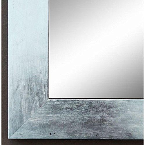 Spiegel Wandspiegel Badspiegel Flurspiegel Garderobenspiegel - Über 200 Größen - Lecce Silber 3,9 - Außenmaß des Spiegels 30 x 40 - Wunschmaße auf Anfrage - Antik, Barock