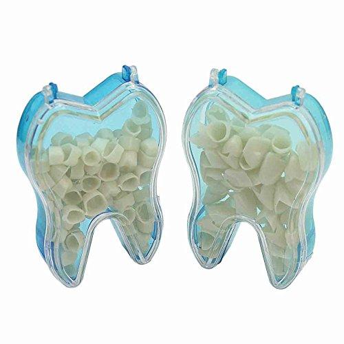 1 Kasten Anterior Vorder Zahn Temporäre Krone + 1 Kasten Anterior Vorder Provisorische Zahnkrone