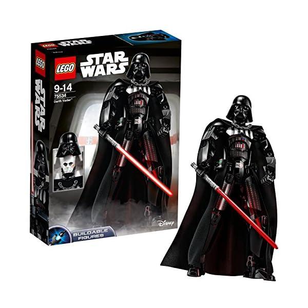 LEGO-Star Wars con structionDarth Vader, Multicolore, 75534 1 spesavip