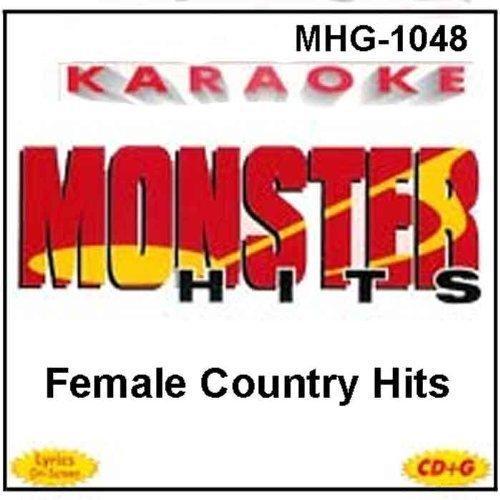Monster Hits Karaoke #1048 - Female Country Hits by Lorrie Morgan, Tammy Wynette, Wynonna Judd, Pam Tillis, Reba McEntire, Tanya Tuc (0100-01-01j (Lorrie Morgan Karaoke)