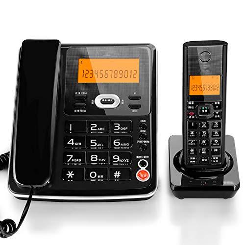 Yingying Kabelloses Telefon Telefon Business Digital Schnurloses Telefon Mutter Maschine Square Festnetz festnetztelefon (Farbe : B)