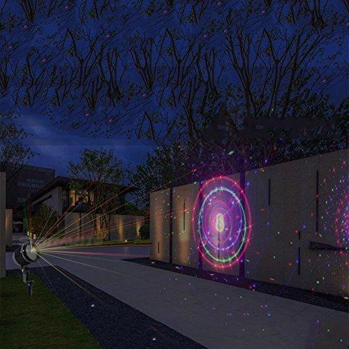 er, Wasserdichte Led-Projektor-Licht Mit Rf-Fernbedienung, Outdoor-Und Indoor-Landschaft Lichter Für Weihnachten, Halloween, Party Und Garten Dekoration (Halloween Klasse Spiele)
