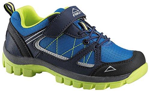Light Navy Schuhe (McKINLEY Unisex-Kinder Multifunktionsschuh Maine AQB Jr. Trekking- & Wanderhalbschuhe, Blau (Navy Dark/Red Light 906), 37 EU)
