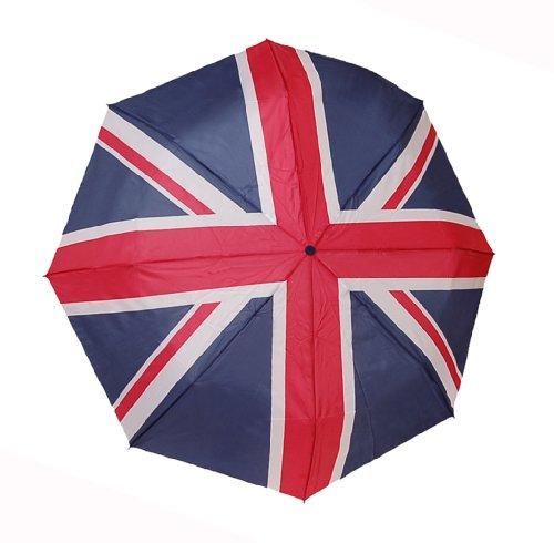 Union Jack Compact Regenschirm (Jack Handtasche Union Damen)
