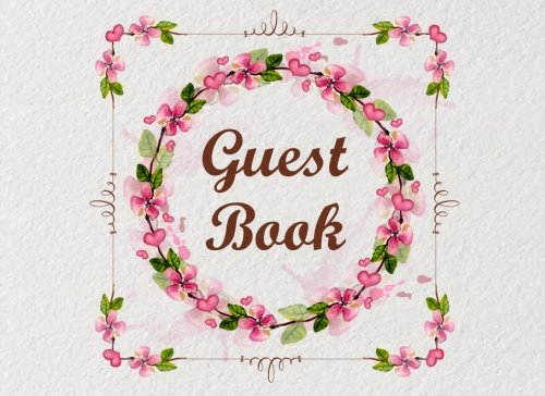 y Guest Book,Baby Shower,Bridal Shower,Birthday,Wedding and Anniversary Home Office (Events & Party Guest Book, Band 5) (Jasmine Party Supplies)