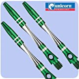 Gorgeous UNICORN TWIST ALUMINIUM Dart Stems, available in 5 colours ! (Green, 1) - Dart Stems - amazon.co.uk