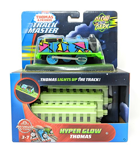 Thomas & Friends FVJ73 Trackmaster Hyper Glow Thomas Engine, Multicolore