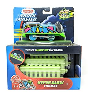 Thomas & Friends FVJ73 Trackmaster Hyper Glow Thomas Engine