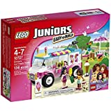 LEGO Juniors 10727 Emma's Ice Cream Truck Building Kit (136 Piece) by LEGO Juniors