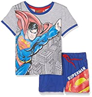DC Comics Boy's Superman Sportswear Set, Blue, 2-3 Years (Manufacturer Size:3 Years)