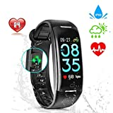 Wincase Montre Cardiofréquencemètre, Tracker d'Activité Écran Coloré...