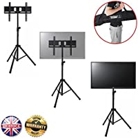 Gorilla treppiede portatile TV da pavimento con staffa di montaggio per 94cm a 129,5cm schermo LCD/LED TV - Trova i prezzi più bassi su tvhomecinemaprezzi.eu