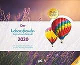 Der PAL-Lebensfreude-Inspirationen-Kalender 2020: Wandkalender zum Aufhängen, wunderschöne Landschaftsmotive mit motivierenden und positiven Gedanken, 56,0 x 45,5 cm