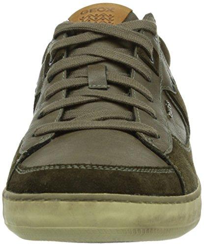Geox U BOX Herren Sneakers Braun (MILITARY/OLIVEC3074)