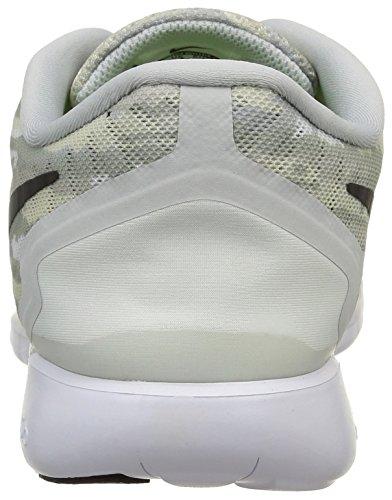 Nike Free 5.0 Print, Chaussures de Running homme Grau (Pure Platinum/Black/Hot Lava)