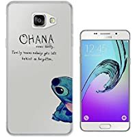 c0036 - Ohana Family Meaning Fun Cool Design Samsung Galaxy A5 -(2016 Modèle) Fashion Trend Protecteur Coque Gel Rubber Silicone protection Case Coque