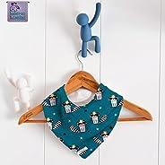 Babero bandana Raccoon Canard. Para bebés, niños y adultos con necesidades especiales. P_35. ***ENVÍO GRATUITO