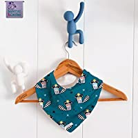 Babero bandana Raccoon Canard. Para bebés, niños y adultos con necesidades especiales. P_35. ***ENVÍO GRATUITO A ESPAÑA***
