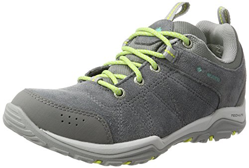 Columbia Damen Fire Venture Low Waterproof Outdoor Fitnessschuhe, Grau (Ti Grey Steel / Aquarium), 39 EU