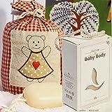Olivos Baby-Seife extra Zart für Babyhaut mit Kordel und Olivenöl