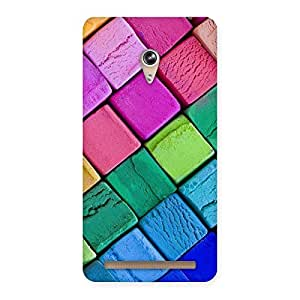 Special Block Colors Print Back Case Cover for Zenfone 6