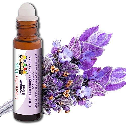 Lavendelöl für Kinder! Für gesunde Kinder, Lavendel-Mandelmischung von AROMATA
