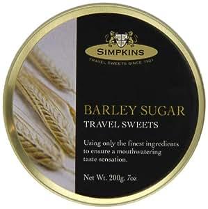 Simpkins Barley Sugar Drops 200 g (Pack of 6)