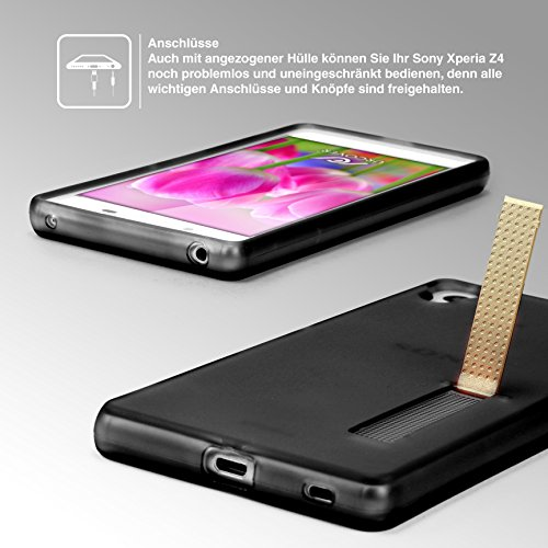 Coque iPhone 7, Urcover Housse Étui [avec Support] Téléphone Smartphone TPU Souple Transparent Transparent Apple iPhone 7 Case Noir / Transparent