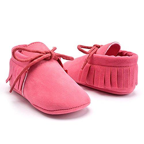 La Cabina Chaussures Bébé Fille garçon -Chaussure Bébé Fille Garçon Premier Pas -Chaussures Souples Confortable - Chaussures Antiglisse +Frange Décoration (3- 12 mois ) (6-9 mois, 02) 08