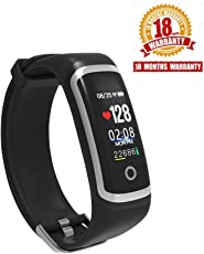 WEARFIT WP116 Color Screen Smart Band with Real-time Heart Rate, Blood Pressure Monitor IP67 Waterproof Fitness Tracker