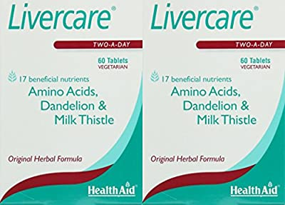 (2 PACK) - Healthaid Livercare Tablets | 60s | 2 PACK - SUPER SAVER - SAVE MONEY