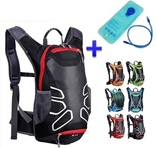 Theoutlettablet® Mochila impermeable bici para Ciclismo Bicicleta Bol