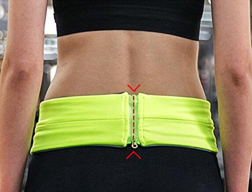 OOFWY Running Belt Waist Pack, leichte Outdoor Sports Fanny Pack Taille Tasche Tasche B