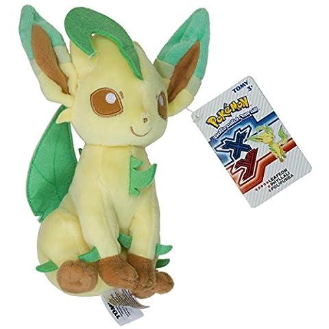 Pokémon - Jeux de Figurines - Figurine - Peluche Phyllali 20cm
