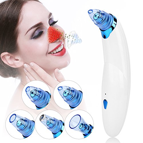 Vacuum massaggio elettrico microdermabrasion strumento, full body cup ping bellezza rassodante anticellulite naso acne punti neri extractor bellezza dispositivo blau