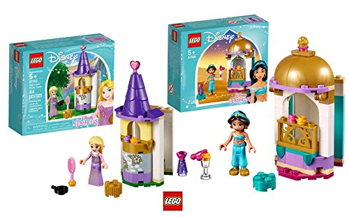 LEGO 41158 Jasmins - Torre pequeña Disney 41163 Rapunzels