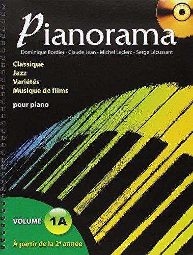 Book's Cover of Pianorama  Classique Jazz Variétés Musique de films volume 1A CD inclus
