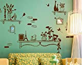 Wandaufkleber home nordic einfache moderne wandaufkleber europäischen kreative wohnzimmer hintergrund wanddekorationen selbstklebende malerei rahmen, breite 150 * hoch 100 cm