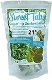 Sweet Tabs 21° Oliv Brazilian Wax. Einfach auspacken, kneten und anwenden. Enthaarungswachs aus Sugaring Zuckerpaste zur Haarentfernung per Hand. Keine Vliesstreifen oder Erwärmen nötig. 8 * 45g =360g