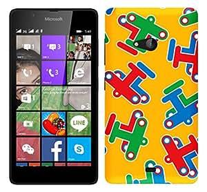 WOW 3D Printed Designer Mobile Case Back Cover For Microsoft Lumia 540 / Nokia Lumia 540