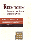 Refactoring: Improving the Design of Existing Code (Addison-Wesley Object Technology Series)