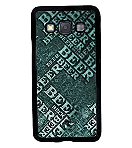 Fuson 2D Printed Beer Designer back case cover for Samsung Galaxy A3 A300F - D4453