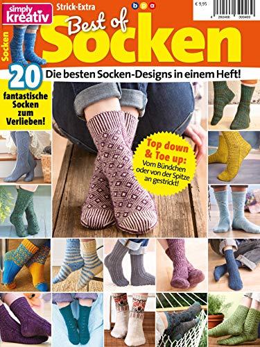 Simply Kreativ: Best of Socken: Die besten Socken-Designs in einem Heft!