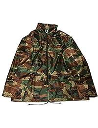 Adultes Camouflage / Camoflae Imperméable Veste / Pantalon - Veste, M/L