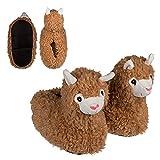 Preis am Stiel Kuschel-Hausschuhe ''Lama'' - Größe: 33/34   Geschenk für Mädchen   Lama Geschenk   Pantoffeln   Plüsch Hausschuhe für Kinder   Alpaka   lustige Geschenke